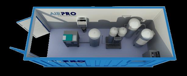 Mobile Oxygen + Nitrogen Generators